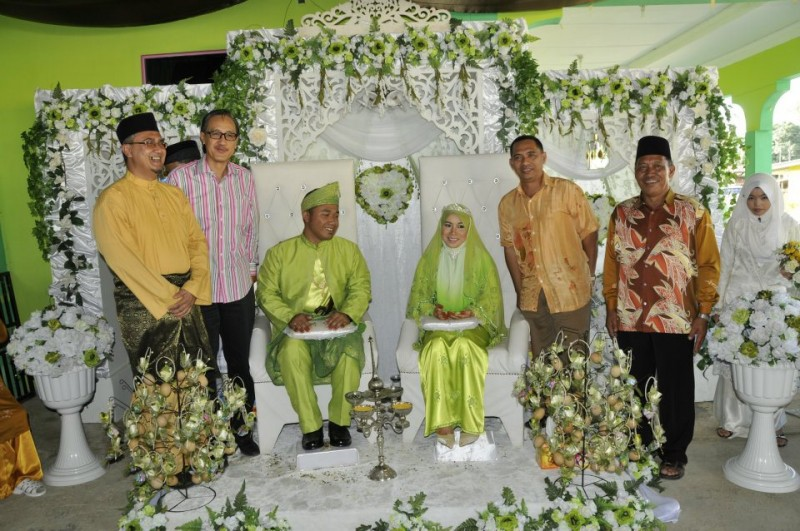 A wedding in Ranau