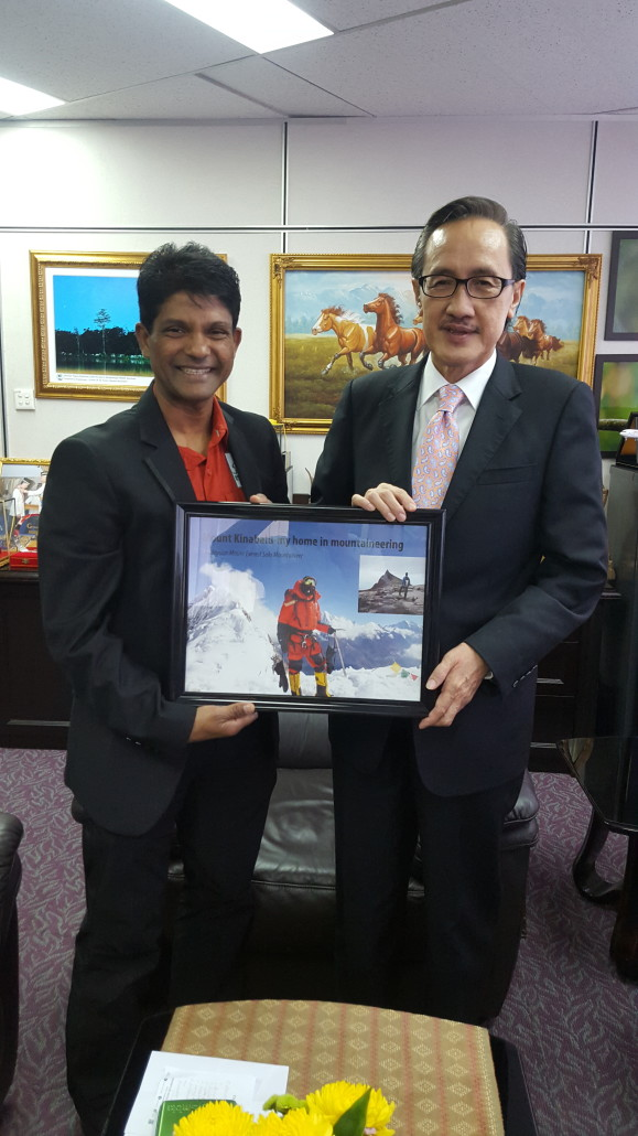 Courtesy visit from Ravi Everest