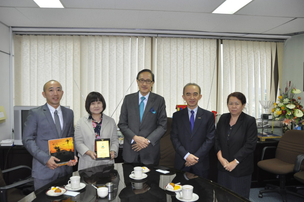 Courtesy visit from the Counselor of Japan to Kota Kinabalu, Ms Hiroko Matsuo