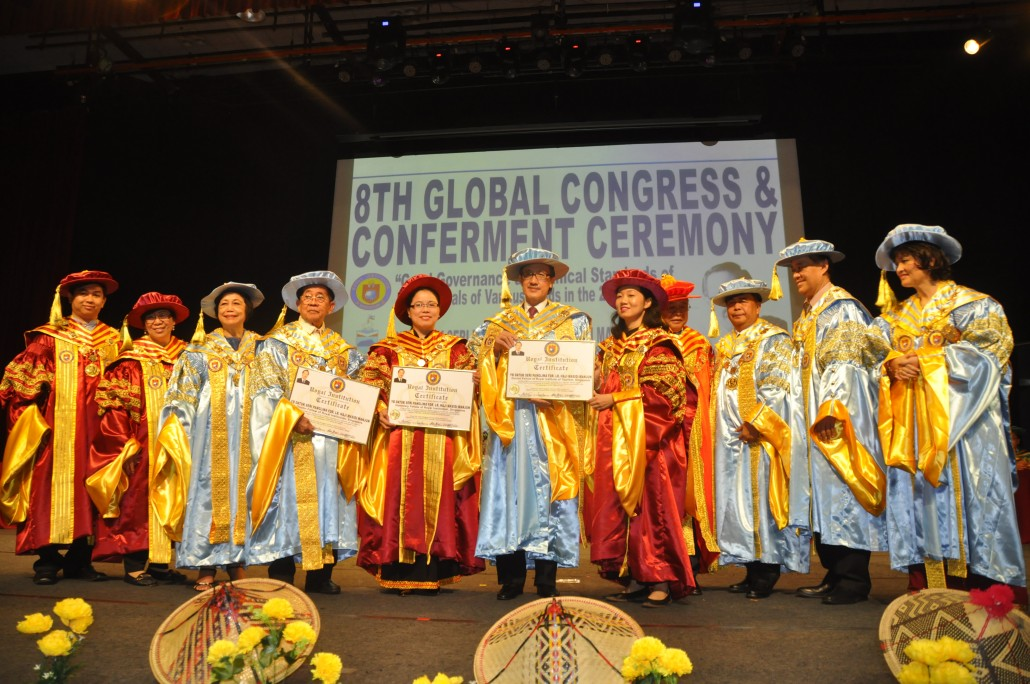 8th International Congress and Conferment Ceremony