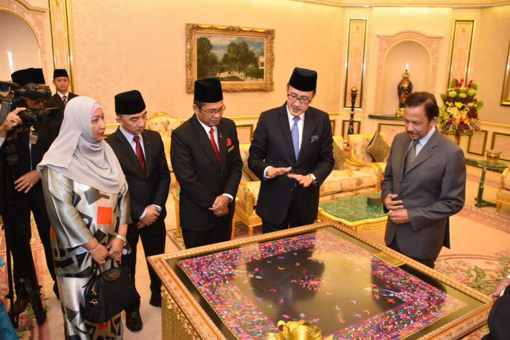 Visit to Brunei